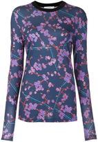 Carven floral print sweatshirt