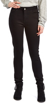 Black High-Waist Skinny Pants