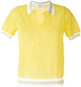Blugirl short-sleeve collar jumper