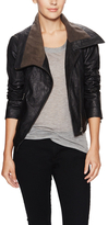 Nate Leather Detachable Jacket