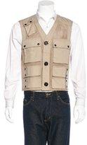 Belstaff Carnforth Leather-Trimmed Vest w/ Tags