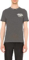Alexander McQueen Winged-skull cotton-jersey t-shirt