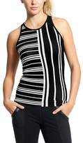 Athleta Mix Stripe Renew Racerback Tank