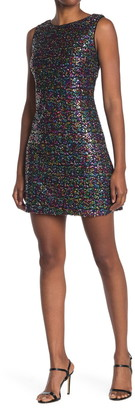 Betsey Johnson Sequin Swing Dress