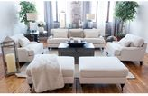 Elements Fine Home Furnishings Saint Tropez 5-Piece Fabric Collection Including 1 Sofa, 2 Chairs, and 2 Ottomans