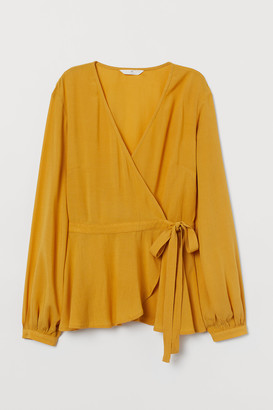 H&M Wrapover Blouse