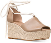 MICHAEL Michael Kors Hastings Lace-Up Wedge Sandals