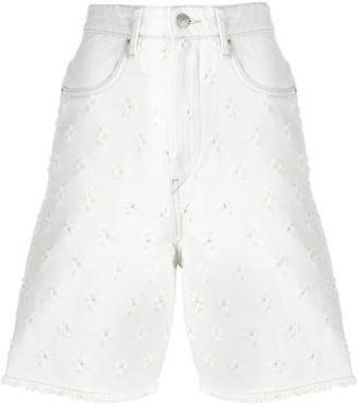 Etoile Isabel Marant Liny distressed shorts