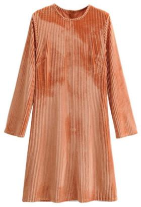 Goodnight Macaroon 'Tiff' Ribbed Corduroy Dress