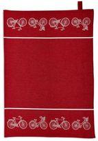 """Sur La Table Bicycle Jacquard Kitchen Towel, 28"""" x 20"""""""