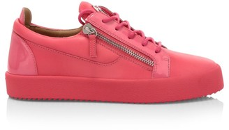 Giuseppe Zanotti Birel Leather Low-Top Sneakers