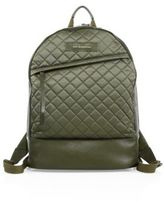 WANT Les Essentiels Quilted Polyester & Leather Backpack
