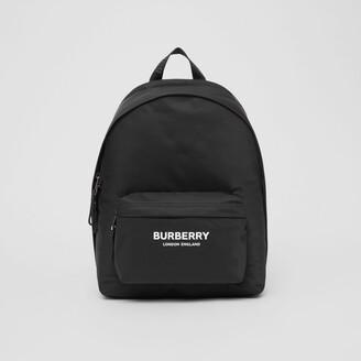 Burberry Logo Print ECONYL Backpack