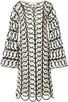 Chloé bohemian crocheted dress - women - Cotton - S