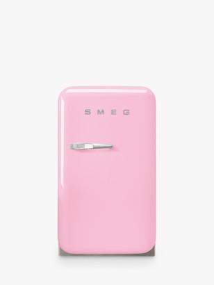Smeg FAB5R Freestanding Mini Fridge, A+++ Energy Rating, 40.4cm Wide, Right-Hand Hinge