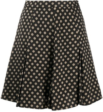 MICHAEL Michael Kors Geometric Print Skirt