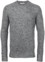 Nuur ribbed crew neck jumper - men - Nylon/Mohair/Wool - 46
