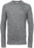 Nuur ribbed crew neck jumper