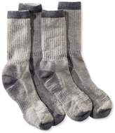 L.L. Bean L.L.Bean Cresta Hiking Socks, Lightweight Two-Pack