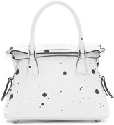 Maison Margiela White Paint Splatter Small 5AC Bag