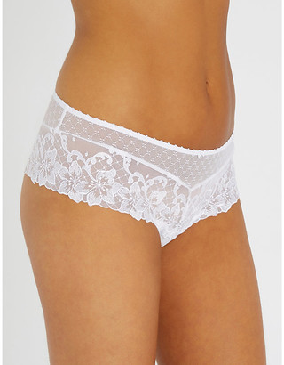 Aubade Wandering sheer-lace thongs