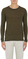 Barneys New York Men's Layered-Detail Cashmere Sweater