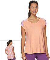 Gaiam Women's Reflect Hi-Low Tee