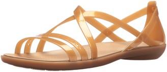 Crocs Women's Isabella Cut Strappy Sandal W Flat