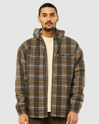 Rusty Men's Jackets - Play Time Sherpa Comfy - Size One Size, S at The Iconic