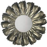 "Jamie Young Harvest 35"" Wall Mirror - Antiqued Silver"
