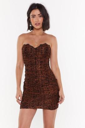 Nasty Gal Womens Let's Misbehave Lace Mini Dress - Orange - 12