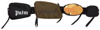 Palm Angels Multicolor Multi-Pocket Pouch