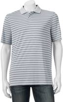 Croft & Barrow Big & Tall Classic-Fit Striped Performance Polo