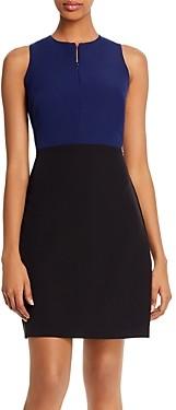 Sam Edelman Zip-Front Sheath Dress