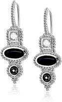 Judith Ripka Harmony 3-Stone Drop Earrings