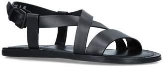 Salvatore Ferragamo Leather Sandals