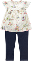 Monsoon Baby Betty Top & Jeggings Set