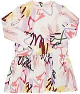 Molo Kids Candis Graffiti-Print Dress