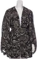 Stella McCartney Wool & Mohair-Blend Coat