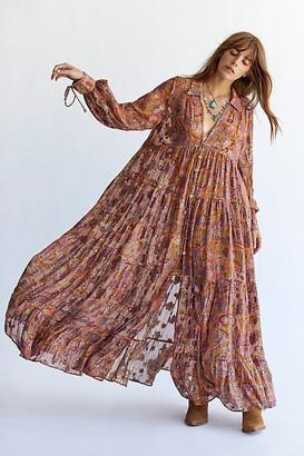Free People Paisley Maxi Dress
