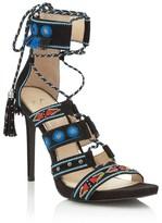 Jessica Simpson Embellished Tribal Heels