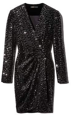 Maje Rivy Sequin Dress