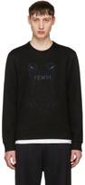Fendi Black Frogs Sweatshirt