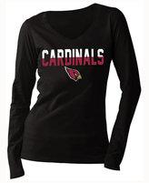 5th & Ocean Women's Arizona Cardinals Huddle LE Long Sleeve T-Shirt