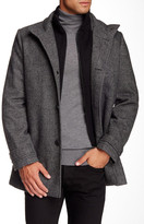 Kenneth Cole New York Button Front Coat