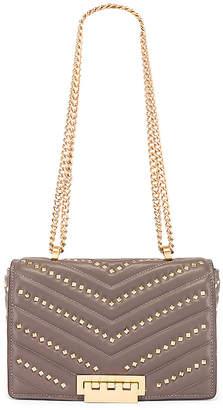 Zac Posen Soft Earthette Medium Chain Shoulder Bag