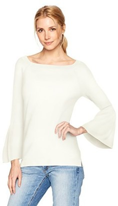 525 America Women's Tulip Sleeve Square Neck