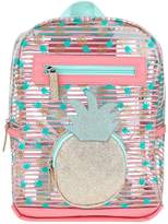 Accessorize Girls Pineapple Jelly Backpack
