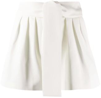 IRO High-Rise Tie Waist Shorts