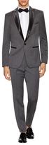 Wool Peak Lapel Tuxedo Suit